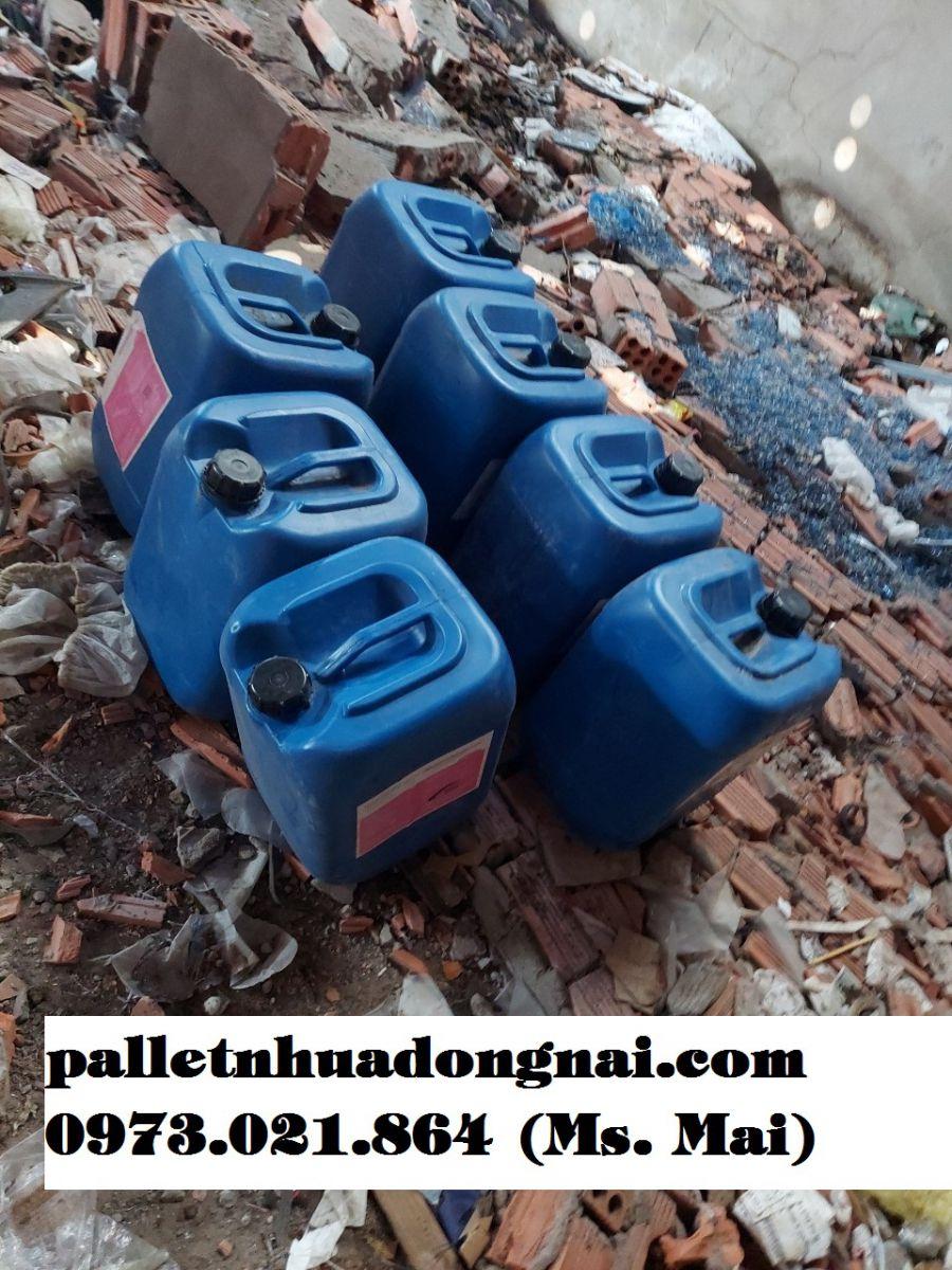 Can nhựa cũ giá rẻ, cung cấp can nhựa cũ số lượng lớn