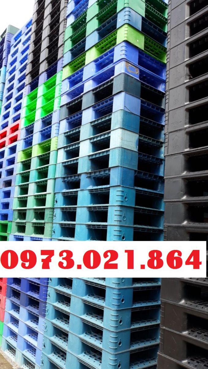 Pallet nhựa cũ Bình Dương giá rẻ, liên hệ 0973021864 để được báo giá tốt nhất