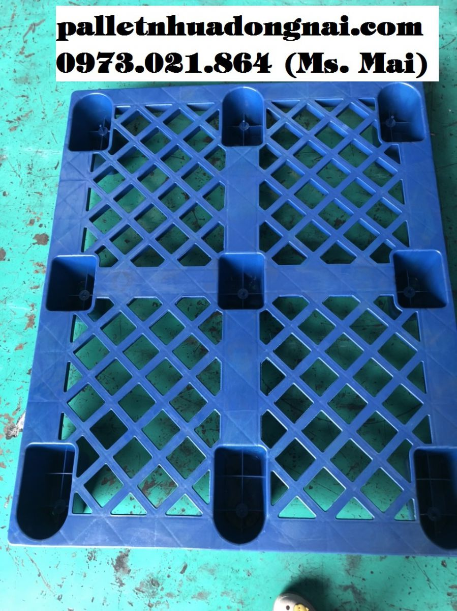 Mua bán pallet nhựa cũ tại Hưng Yên, giá chỉ từ 150k/cái