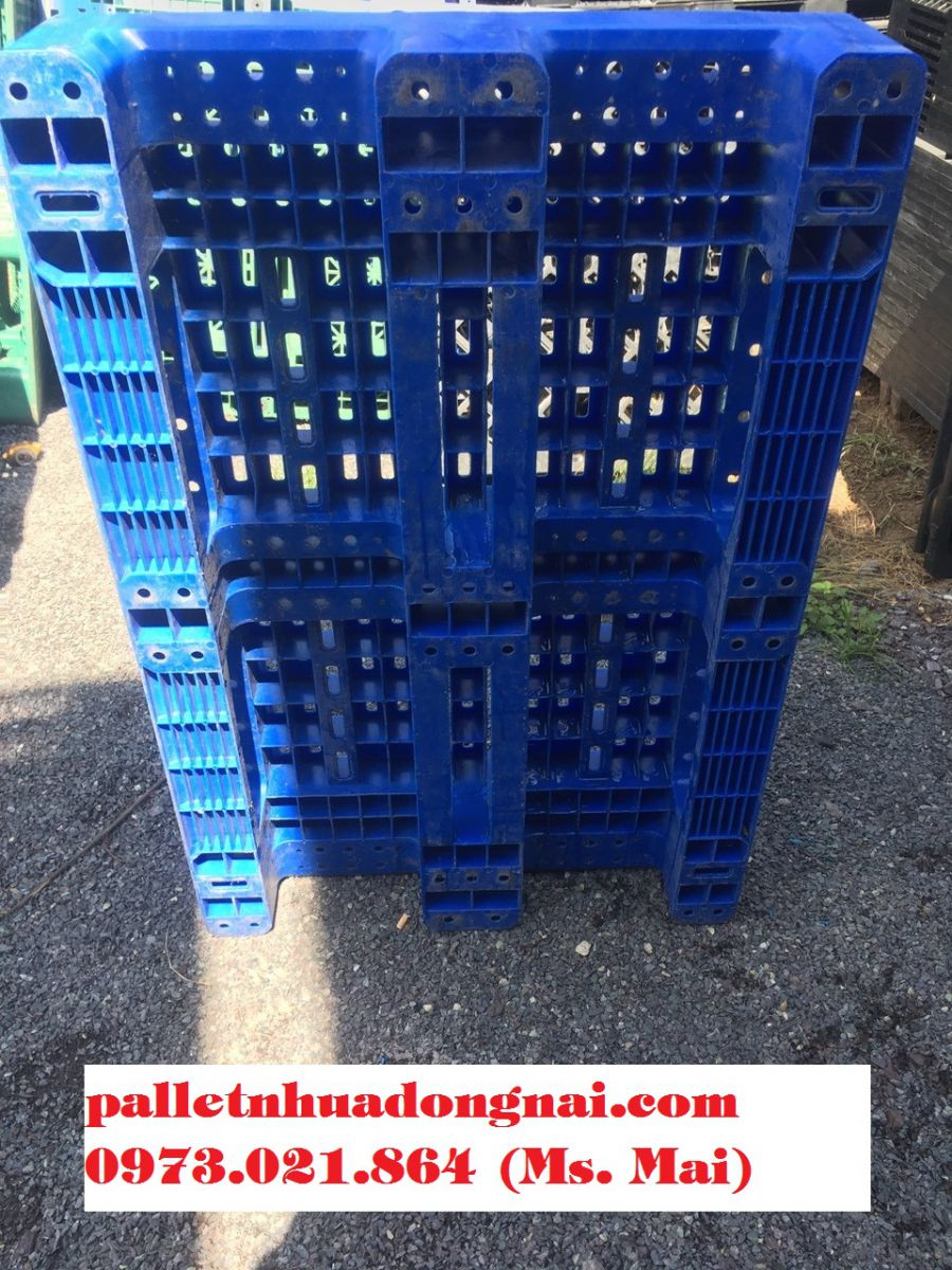 Có nên sử dụng pallet nhựa đã qua sử dụng không? Đơn vị cung cấp pallet nhựa đã qua sử dụng uy tín nhất