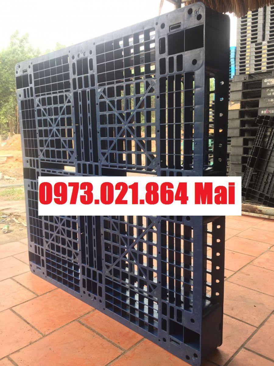Pallet nhựa 1100x1100x150mm giá rẻ nhất thị trường