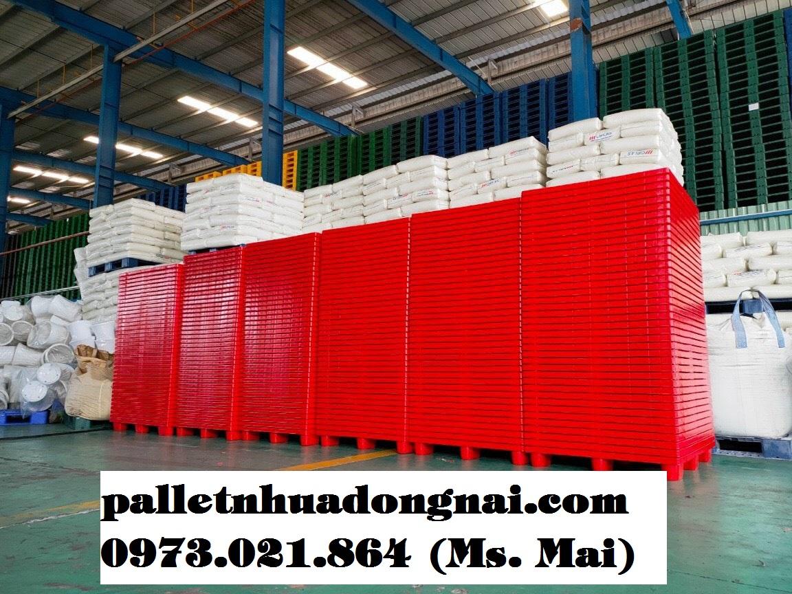 Pallet nhựa tại Sài Gòn giá rẻ, pallet nhựa Sài Gòn chất lượng cao