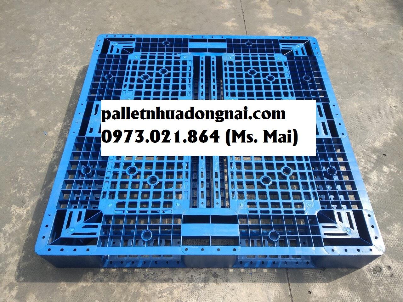 Pallet nhựa Trà Vinh giá rẻ, vận chuyển tận nơi