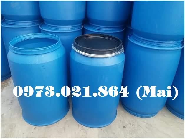 Chuyên cung cấp thùng phi nhựa cũ giá rẻ bất ngờ, chất lượng cao, lh 0973021864 (24/7)